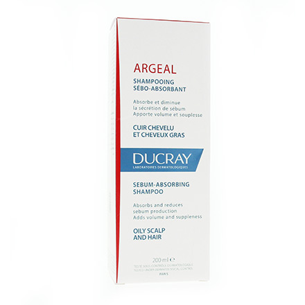 DUCRAY Argeal shampooing tube 200ml - Illustration n°1