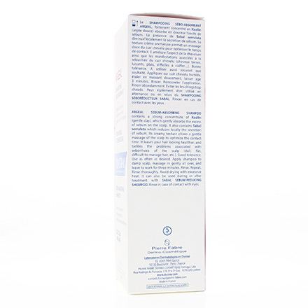 DUCRAY Argeal shampooing tube 200ml - Illustration n°2