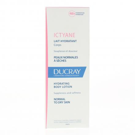 DUCRAY Lait hydratant corps tube 200ml - Illustration n°1