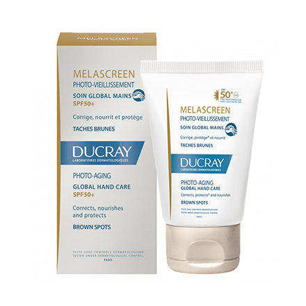 DUCRAY Melascreen soin global main SPF 50+