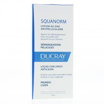 DUCRAY Squanorm lotion anti-pelliculaire flacon 200ml - Illustration n°1