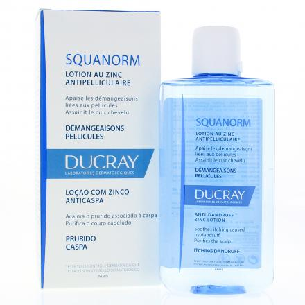 DUCRAY Squanorm lotion anti-pelliculaire flacon 200ml - Illustration n°2