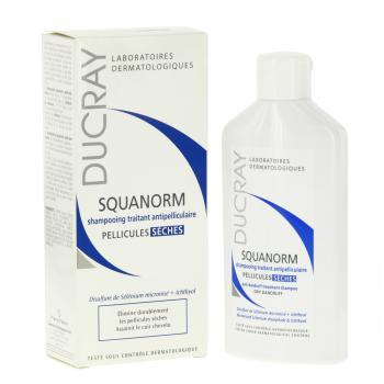 DUCRAY Squanorm shampooing anti-pelliculaire flacon 200ml - Illustration n°2