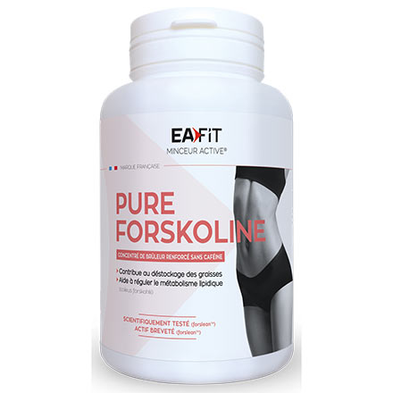 EAFIT Pure forskoline amincissement global silhouette pot de 60 gélules