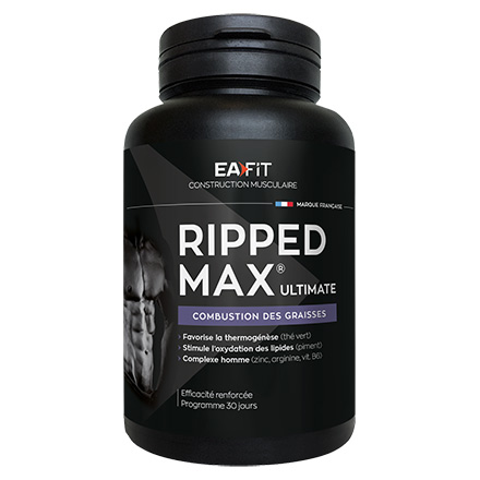 EAFIT Ripped max ultimate pot de 120 comprimés