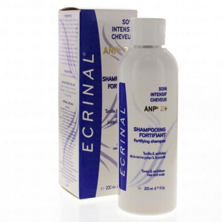 ECRINAL ANP 2+ Shampooing fortifiant soin cheveux intensif flacon 200ml - Illustration n°2