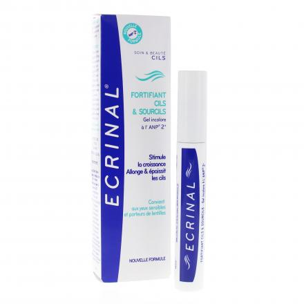 ECRINAL Gel fortifiant cils & sourcils à l'ANP 2+ Tube 9ml - Illustration n°2