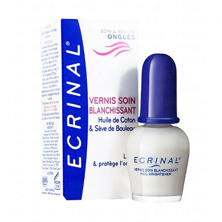 ECRINAL Vernis soin blanchissant flacon 10ml