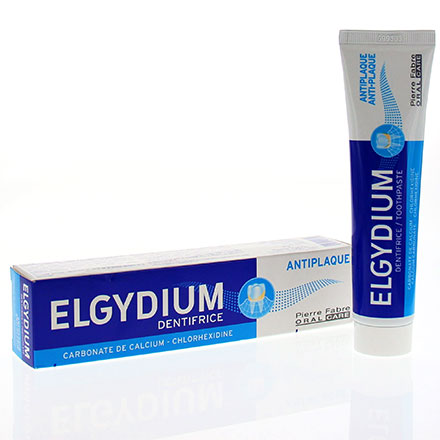 ELGYDIUM Dentifrice antiplaque tube 75ml - Illustration n°1