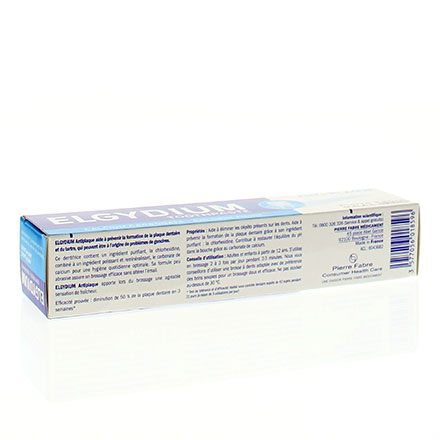 ELGYDIUM Dentifrice antiplaque tube 75ml - Illustration n°2