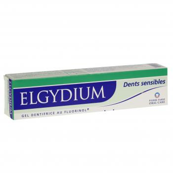 ELGYDIUM Gel dentifrice dents sensibles tube de 75 ml - Illustration n°1