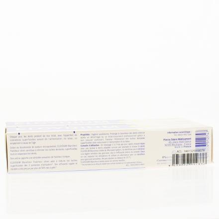 ELGYDIUM Lot de 2 dentifrices blancheur tube 75ml x 2 - Illustration n°3