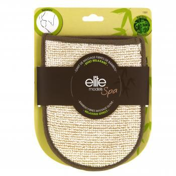 ELITE Spa Gant coton et fibres de bambou 20cm - Illustration n°1