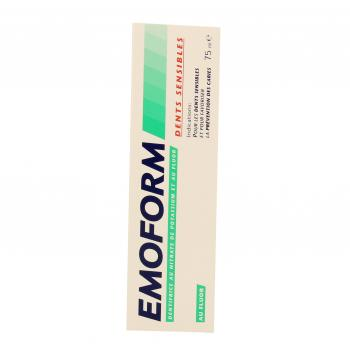 EMOFORM Dents sensibles au fluor tube 75ml - Illustration n°1