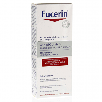 EUCERIN AtopiControl Emollient Corps Calmant  flacon 400ml - Illustration n°3