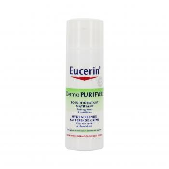 EUCERIN Dermopurifyer soin hydratant matifiant flacon 50ml - Illustration n°1
