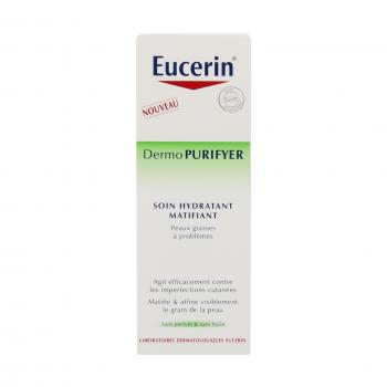 EUCERIN Dermopurifyer soin hydratant matifiant flacon 50ml - Illustration n°3