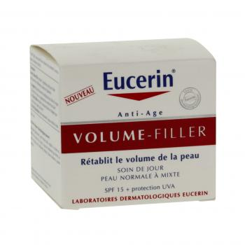 EUCERIN Volume filler jour peaux normales à mixtes pot 50ml - Illustration n°1