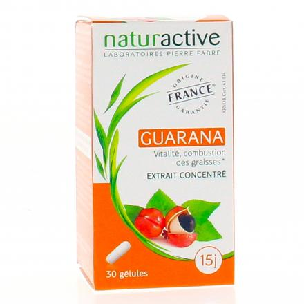 NATURACTIVE Elusanes guarana 30 gélules - Illustration n°1