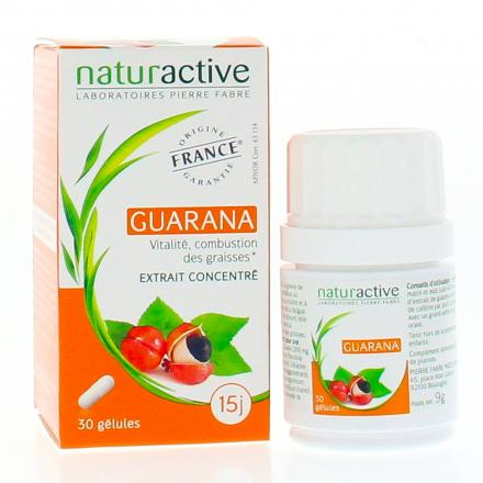 NATURACTIVE Elusanes guarana 30 gélules - Illustration n°2