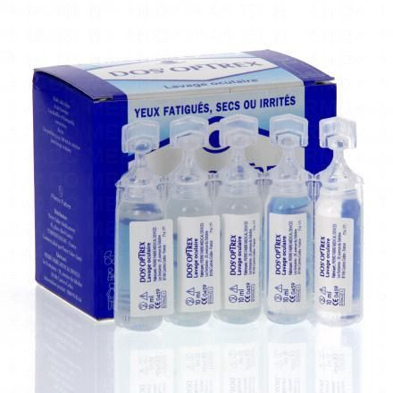 DOS'OPTREX Lavage occulaire 15 unidoses de 10ml - Illustration n°2
