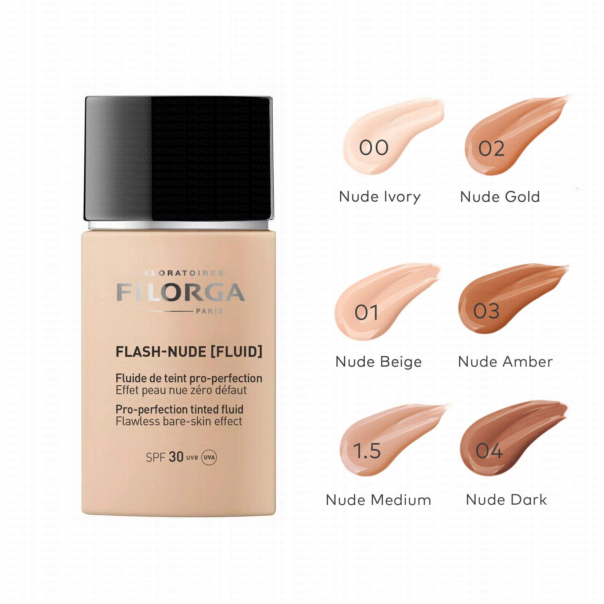 Filorga Flash-Nude Fluid SPF30 1.5 Nude Medium 30 ml