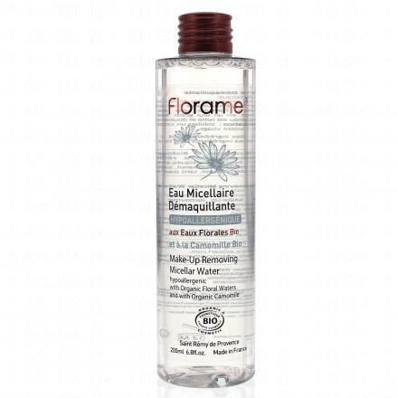 FLORAME Eau micellaire démaquillante flacon 200ml  - Illustration n°1