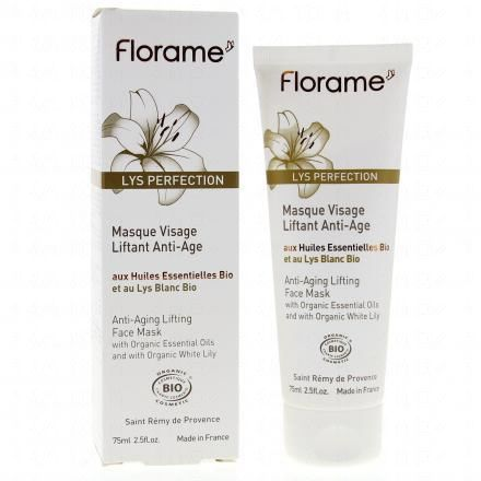 FLORAME Lys-Perfection masque visage liftant anti-âge tube 75ml  - Illustration n°2
