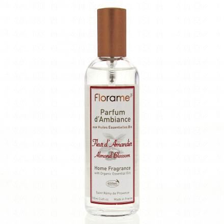 FLORAME Parfum d'ambiance fleur d'amandier flacon 100ml  - Illustration n°1