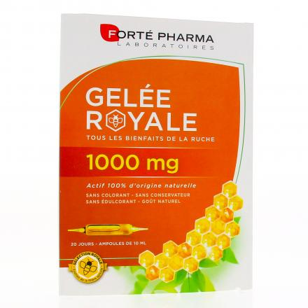 FORTÉ PHARMA Gelée royale 1000mg 20 ampoules de 10ml - Illustration n°1