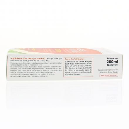 FORTÉ PHARMA Gelée royale 1000mg 20 ampoules de 10ml - Illustration n°3