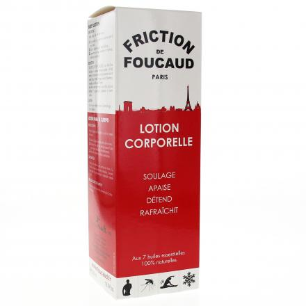 FOUCAUD Lotion énergisante corps flacon de 500 ml - Illustration n°1