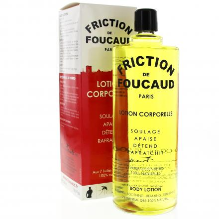 FOUCAUD Lotion énergisante corps flacon de 500 ml - Illustration n°2