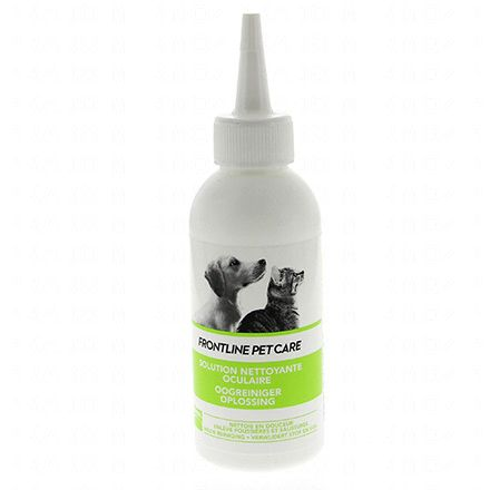 FRONTLINE PET CARE Solution nettoyante oculaire flacon 125 ml - Illustration n°1