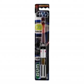 GUM Brosse à dents souple sabre laser starwars  - Illustration n°1