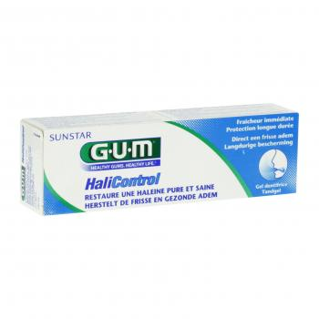 GUM Halicontrol gel dentifrice tube 75ml