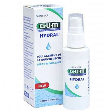 GUM Hydral spray humectant bouche sèche 50ml