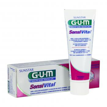 GUM Sensivital dentifrice tube 75ml + brosse à dents - Illustration n°2