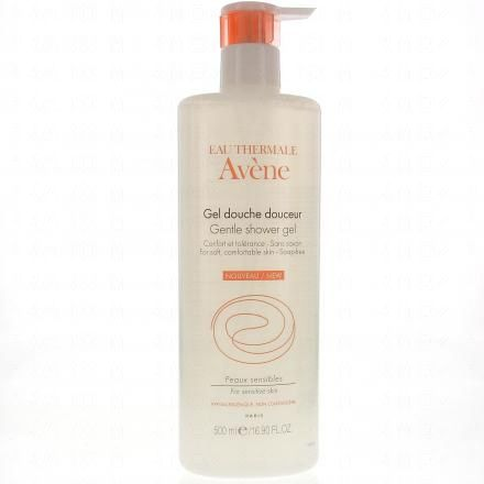 AVENE Gel douche douceur (flacon pompe 500ml)