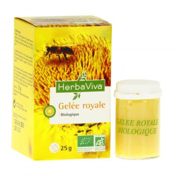 HERBA VIVA Gelée royale bio pot 25g - Illustration n°2
