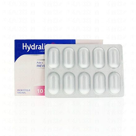 HYDRALIN Flora 10 capsules vaginales - Illustration n°2