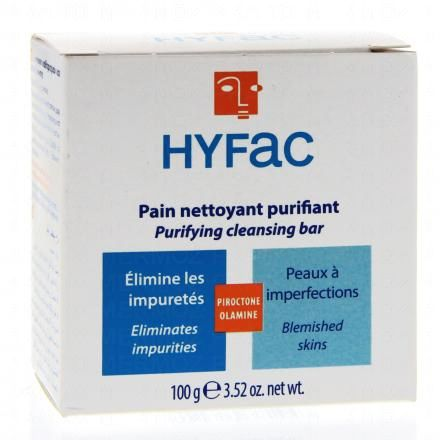 HYFAC Pain nettoyant purifiant - Illustration n°1