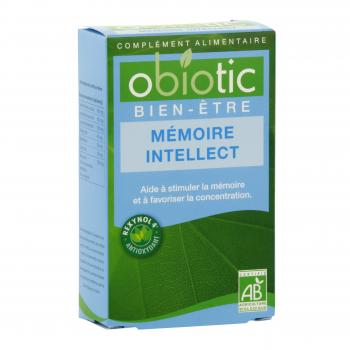 INEBIOS Obiotic mémoire intellect bio 45 gélules - Illustration n°1