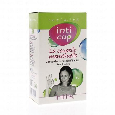INTI CUP La coupe menstruelle 2 tailles - Illustration n°1