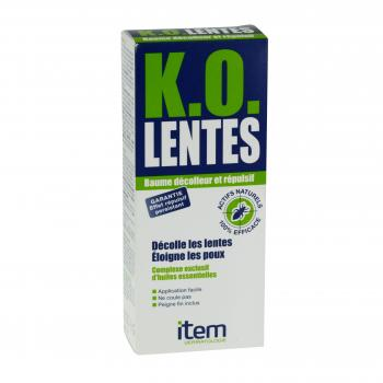 ITEM K.O. lentes baume tube 100ml
