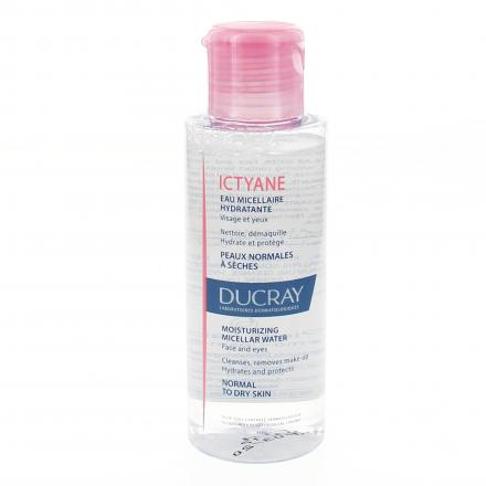Ducray Ictyane eau micellaire flacon 100ml - Illustration n°1