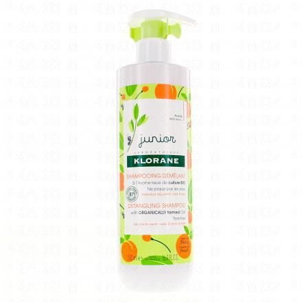 KLORANE Petit junior shampooing démêlant parfum pêche flacon de 500 ml - Illustration n°1
