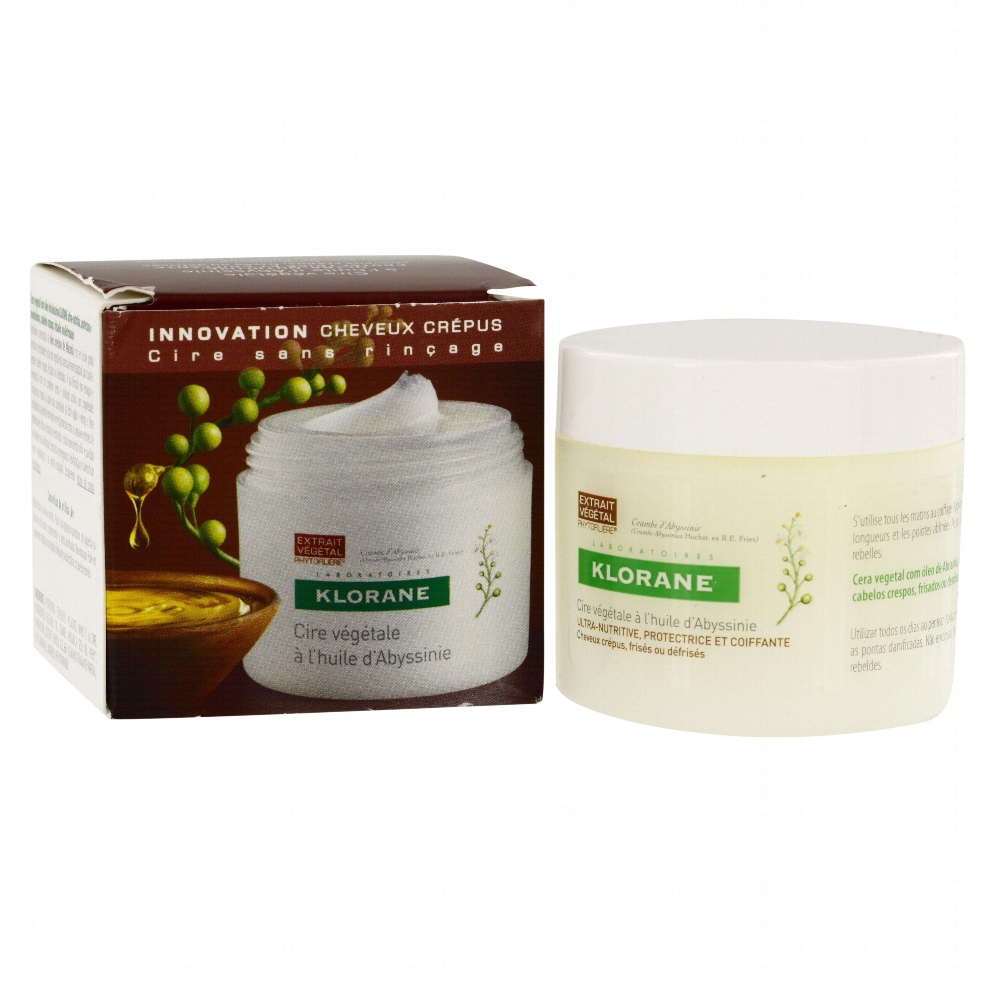 Souvent KLORANE Cire végétale à l'huile d'abyssinie pot 50 g  CR04