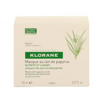 KLORANE Masque au lait de papyrus pot 150ml - Illustration n°2