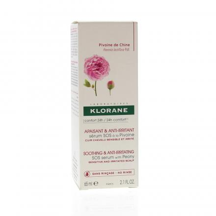 KLORANE Sérum SOS à la pivoine flacon 65ml - Illustration n°1